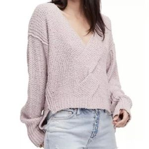 Free People Coco Knit Sweater Oversized Pullover